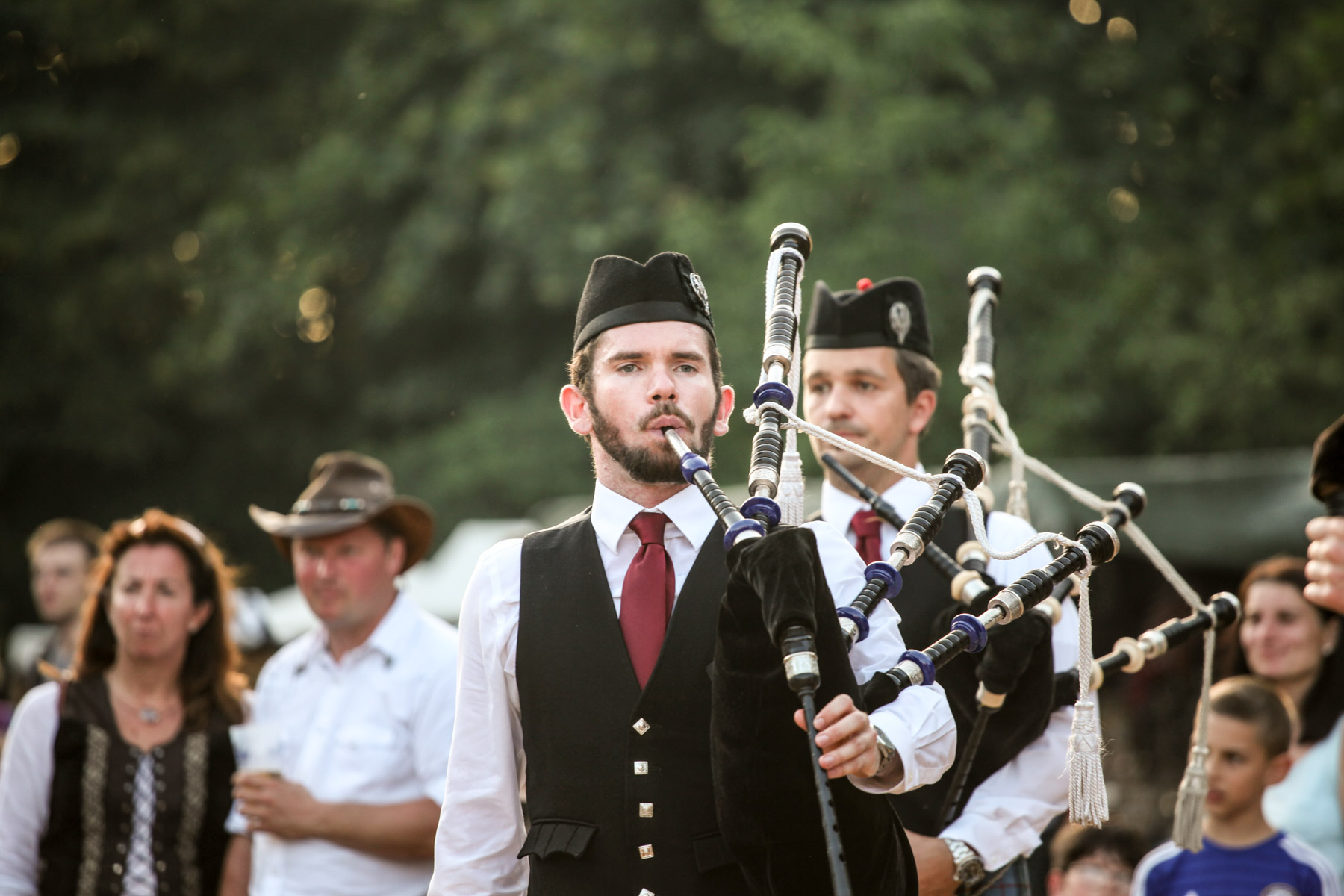 Donauinselfest: Vienna Pipes And Drums At The Donauinselfest 2016