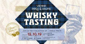 Vienna Pipes 2019 Whisky Tasting @ Pfarrsaal, Pfarre St. Florian | Wien | Wien | Austria